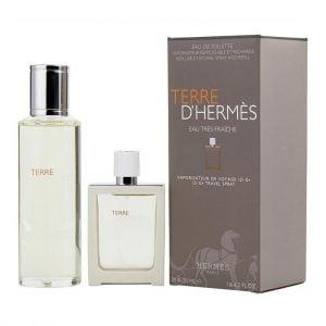 Terre d'Hermes Eau Tres Fraiche EDT Combo Pack (155mL)